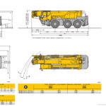 Liebherr LTC-1045 rozměry
